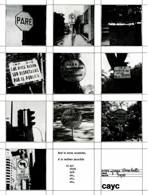 "Katalog ,,Art Systems in Latin America"", 1975"